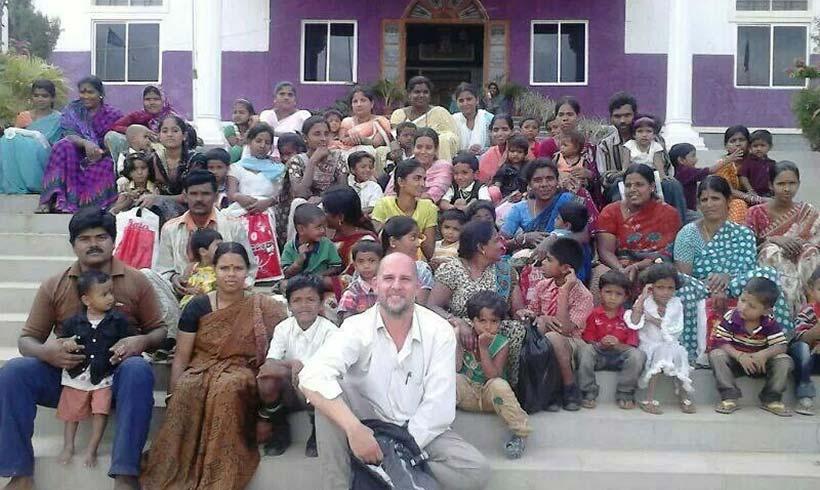 Juan Jesús Rodriguez en India