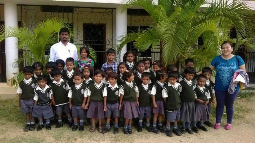 Alumnos colegio Monfort